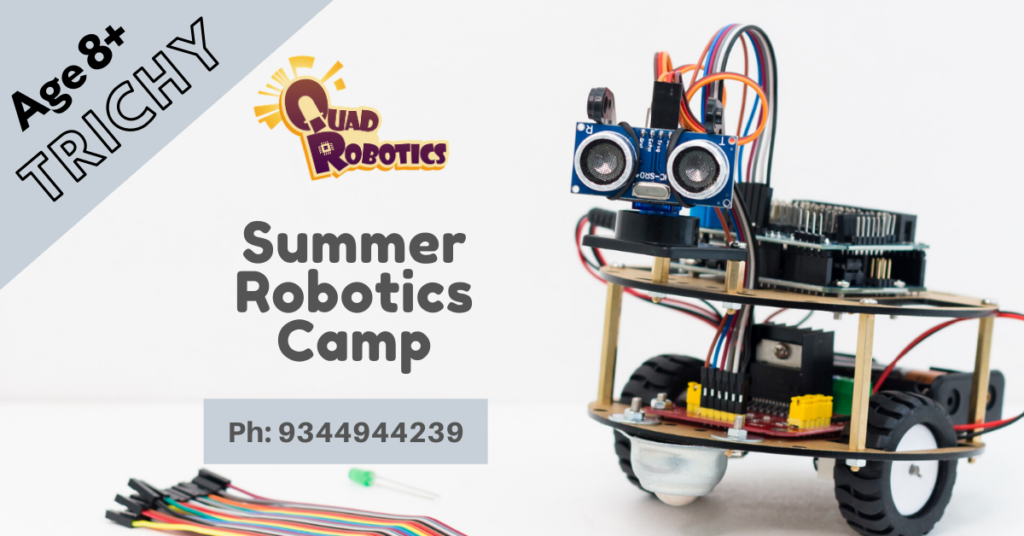 Best Place to learn robotics in Trichy